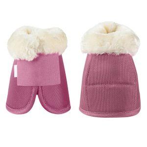 Horze Caliber Bell Boots - Pink