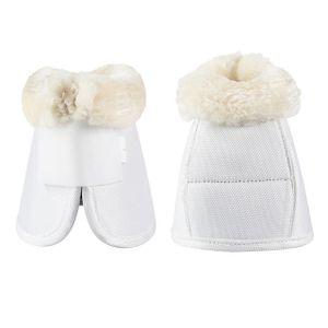 Horze Caliber Bell Boots - White