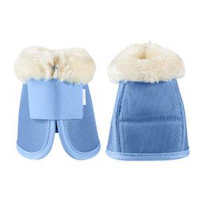 Horze Caliber Bell Boots - Powder Blue