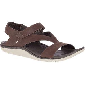 Merrell Women's Trailway Backstrap Leather Sandals - Bracken