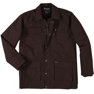 Wranglers Men's Barn Coat - Dark Brown