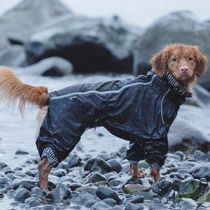Hurtta Canine Downpour Suit - Raven