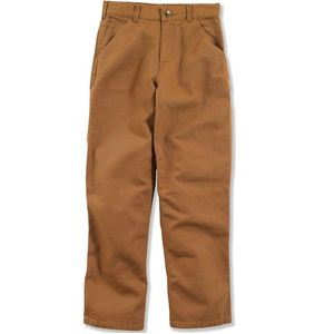 Carhartt Child/Youth Boys' Canvas Dungarees - Carhartt Brown