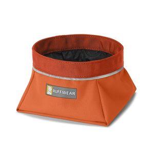 Ruffwear Quencher Dog Bowl - Pumpkin Orange