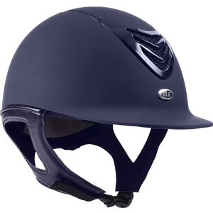 IRH IR4G Riding Helmet - Matte Navy w/Gloss Vent