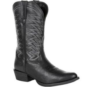 Durango Men's Rebel Frontier R-Toe Western Boots - Black