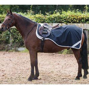 Amigo Fleece Lined Pony Competition Sheet (Navy/Silver)