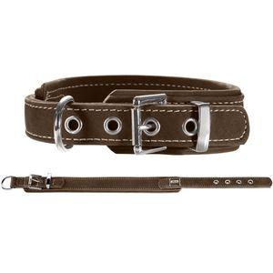 Hunter Germany Hunting Comfort Dog Collar - Brown