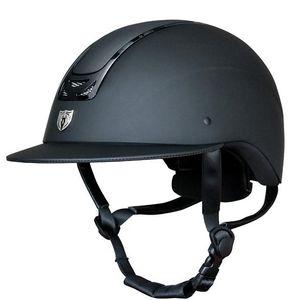 Tipperary Royal Wide Brim Matte & Gloss Black Helmet