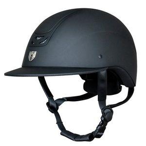 Tipperary Royal Wide Brim Matte Black Helmet