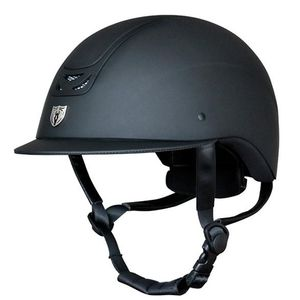 Tipperary Royal Traditional Brim Matte Black Helmet