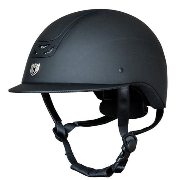 Tipperary-Royal-Traditional-Brim-Matte-Black-Helmet-47067