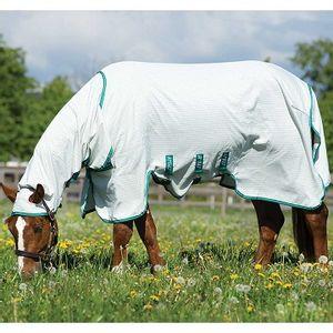 Amigo Aussie Full Body UV Barrier Sheet - White/Green