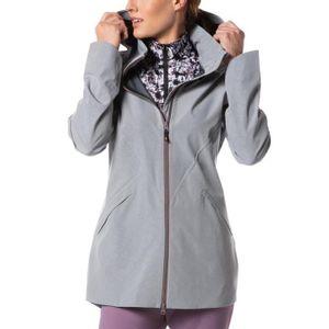 Kerrits Women's Rain Stopper Jacket - Flint Grey