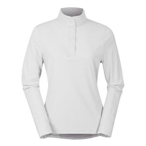 Kerrits Women's Affinity Long Sleeve Show Shirt - White