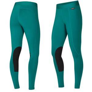 Kerrits Women's Flow Rise Performance Riding Tight - Emerald Green