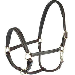 Horze Largo leather Halter - Brown