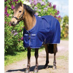 Amigo Hero 900 Pony Rainsheet - Atlantic/Atlantic/Ivory