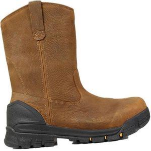 Bogs Men's Bedrock  Wellington Soft Toe Work Boots - Brown