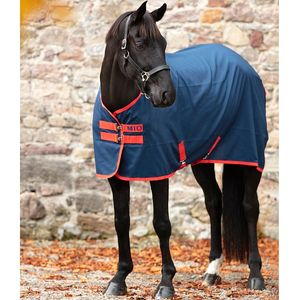 Mio Stable Sheet - Navy/Red