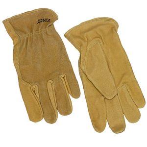 Kinco Men's Premium Grain & Suede Pigskin Driver Gloves