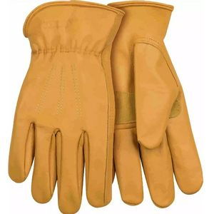 Kinco Men's Unlined Premium Cowhide Driver with Reinforced PalmGloves