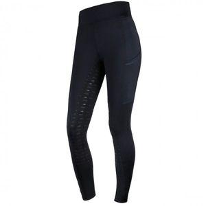 Schockemohle Sports Ladies Pocket KP Riding Tights - Ocean Blue