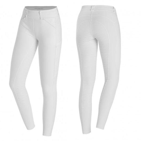 Schockemohle-Women-s-Fullseat-Show-Tights---White-235894