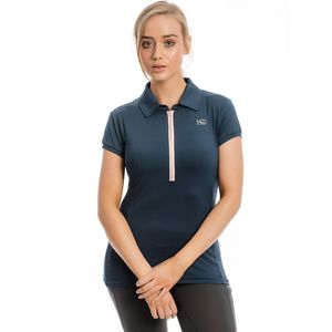 Horseware Ladies Orla Tech Polo Shirt - Navy