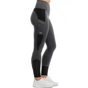 Horseware Ireland Women's Silicon Riding Tights - Charcoal
