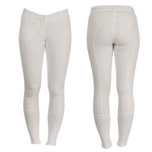 AA Ladies Summer Silicon FS Breeches - White