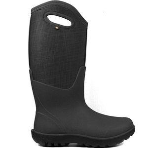 Bogs Women's Neo-Classic Tall Linen Boots - Black Multi