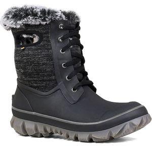 Bogs Women's Arcata Knit Boots - Black Multi