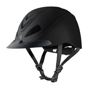 Troxel Liberty Riding Helmet - Black Duratec