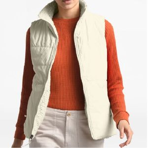 The North Face Women's Merriewood Reversible Vest - Vintage White