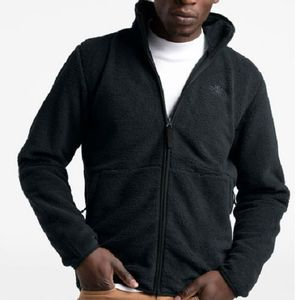 The North Face Men's Dunraven Full Zip Sweatshirt - Black