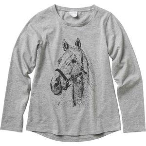 Carhartt Girl's Horse Tee - Grey Heather