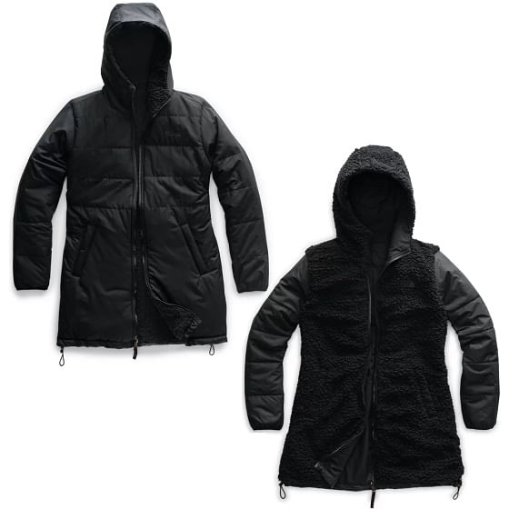 The-North-Face-Women-s-Merriewood-Reversible-Parka---Black-236673