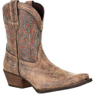 Durango Women's Crush Shortie Boots - Driftwood Sunset