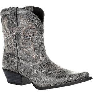 Durango Women's Crush Shortie Boots - Pewter