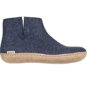 Glerups Unisex Boot with Leather Sole - Denim