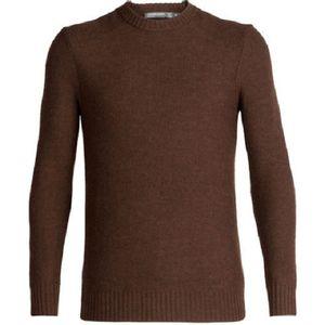 Icebreaker Men's Waypoint Crewe Sweater - Bronze Heather
