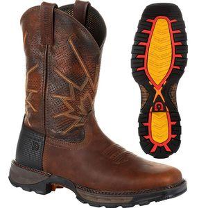 Durango Men's Maverick XP Ventilated Western Work Boot - Tobacco