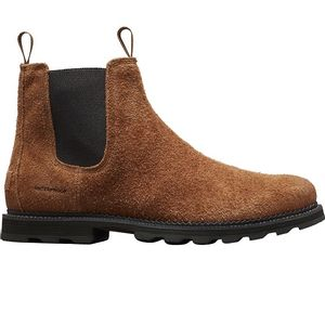 Sorel Men's Madson Chelsea Waterproof Boot - Elk/Black