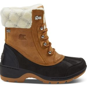 Sorel Women's Whistler Mid Winter Boots - Camel Brown/ Black