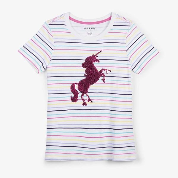 Hatley-Women-s-Rainbow-Unicorn-Flip-Sequin-PJ-Tee-237429