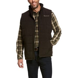 Ariat Men's Crius Insulated Vest - Espresso