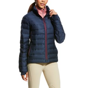 Ariat Women's Team Braze Performance Down Jacket - Navy/Red