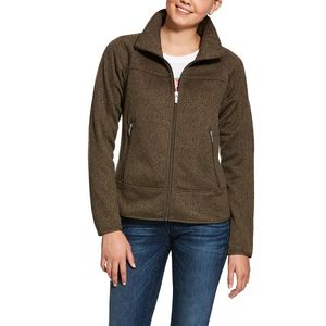 Ariat Women's Sovereign Full Zip Jacket - Barnyard Bark