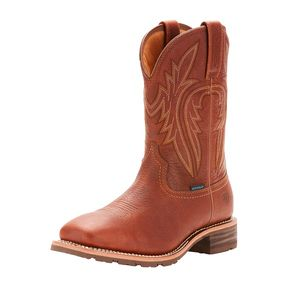 Ariat Men's Hybrid Rancher Waterproof Insulated Western Boot - Sunshine